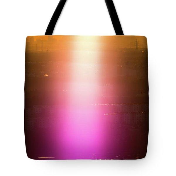 Spiritual Light Tote Bag