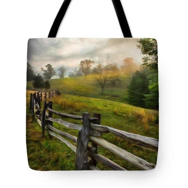 Splash Of Morning Light Ap Tote Bag