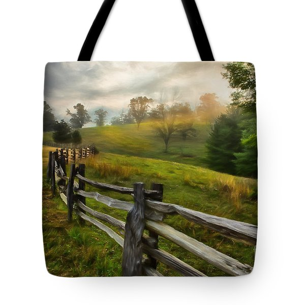 Splash Of Morning Light Ap Tote Bag