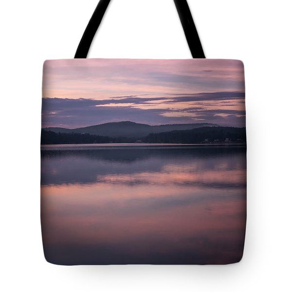 Spofford Lake Sunrise Tote Bag