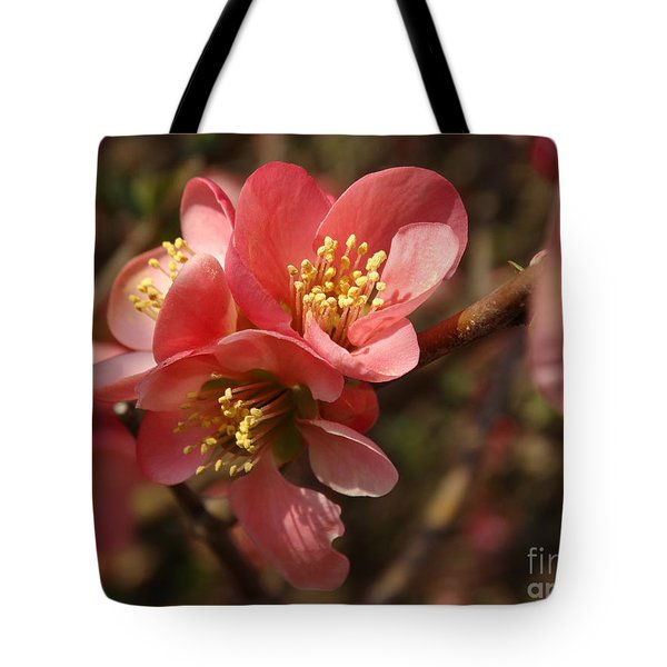 Spring Blooms Tote Bag by Rebecca Overton