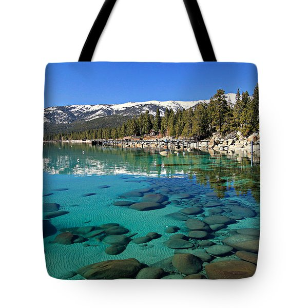 Tote Bag featuring the photograph Spring Clarity by Sean Sarsfield