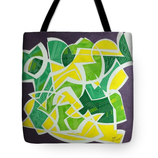 Tote Bag featuring the painting Spring by Hang Ho