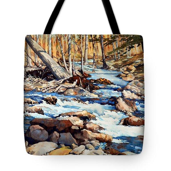 Spring Thaw Tote Bag