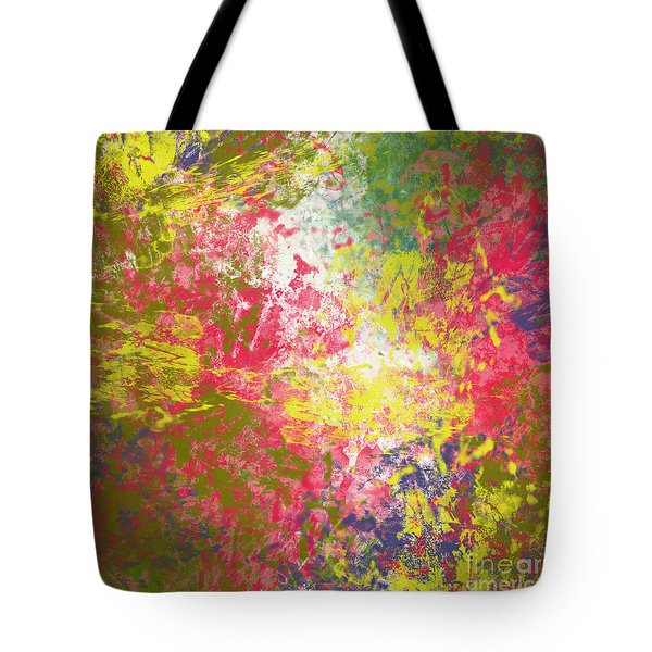 Tote Bag featuring the digital art Spring Thoughts by Trilby Cole