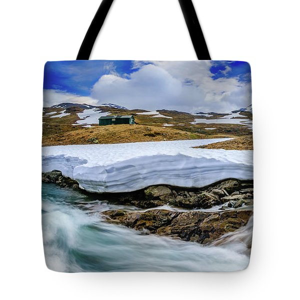 Tote Bag featuring the photograph Spring Waters by Dmytro Korol