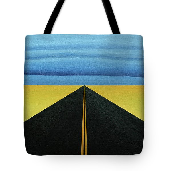 Squall Lines Tote Bag