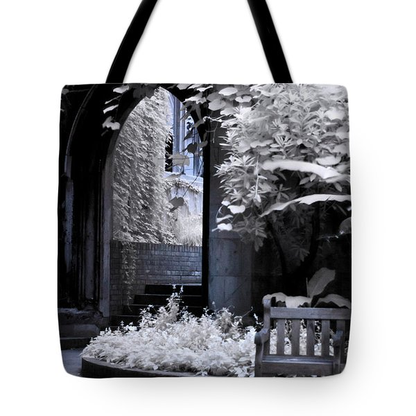 Tote Bag featuring the photograph St Dunstan's In The East by Helga Novelli