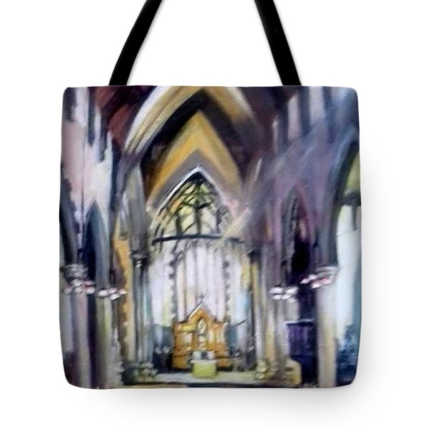 St Johns Cathedral Limerick Ireland Tote Bag