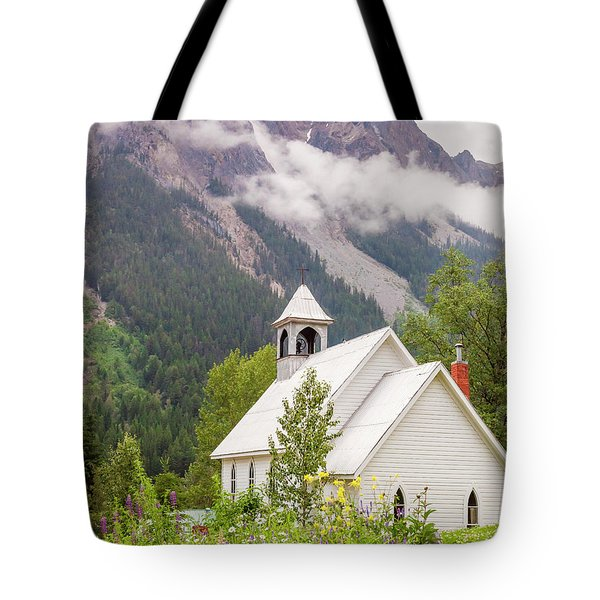 Tote Bag featuring the photograph St. Josephs by Mark Mille