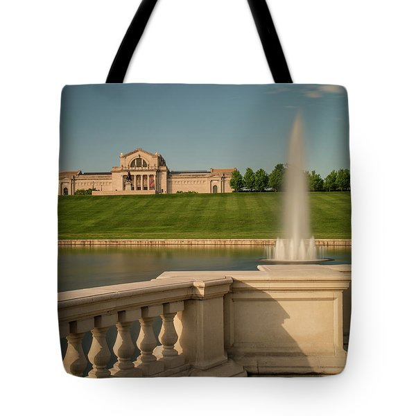 St Louis Art Museum In Forest Park Tote Bag