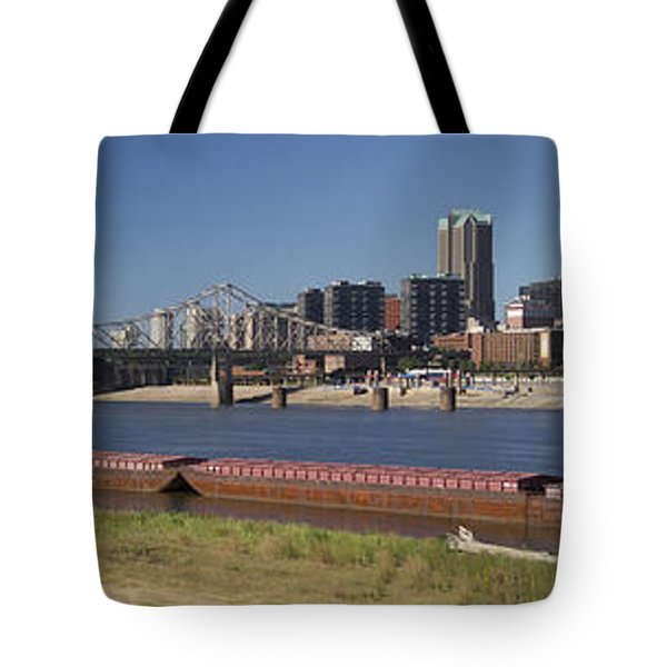 St Louis Skyline   Tote Bag by Garry McMichael