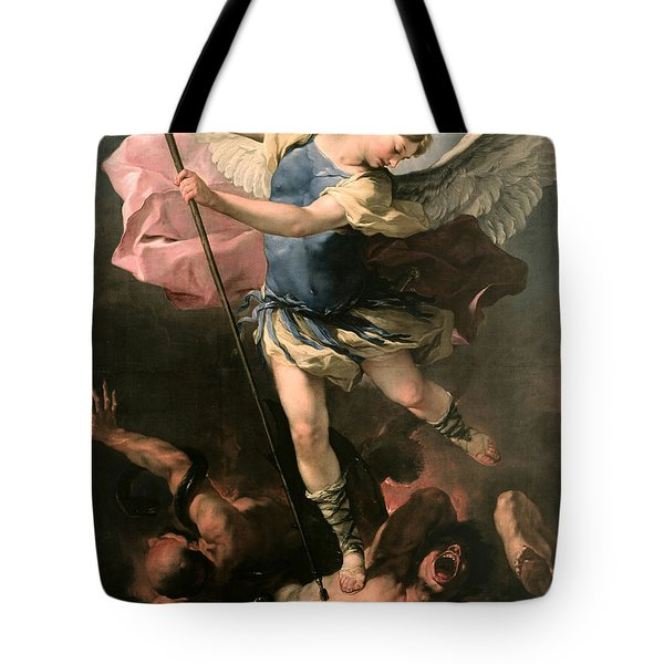 St. Michael Tote Bag