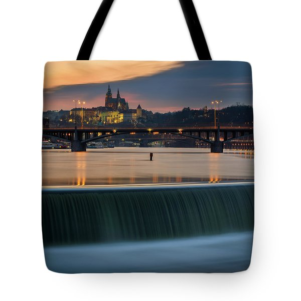 St. Vitus Cathedral, Prague, Czech Republic Tote Bag