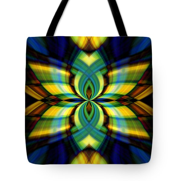 Stained Glass Tote Bag by Cherie Duran