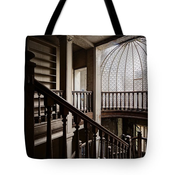 Dome Of Light - Abandoned Building Tote Bag