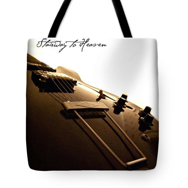 Stairway To Heaven Tote Bag by Christopher Gaston