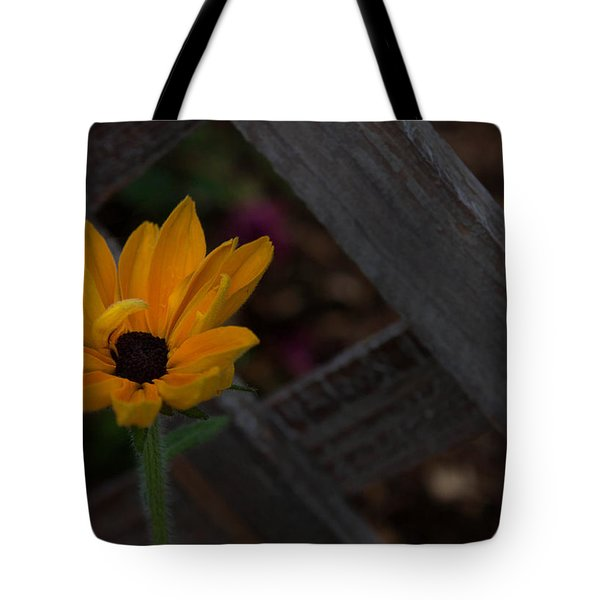 Standing Alone Tote Bag by Cherie Duran