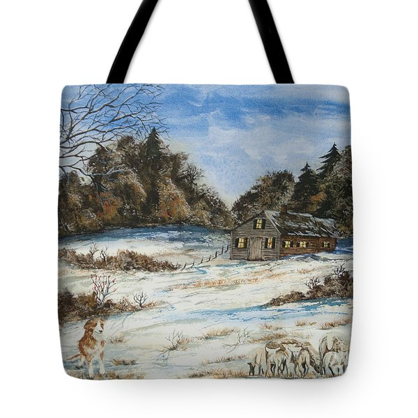 Standing Guard  Tote Bag by Charlotte Blanchard