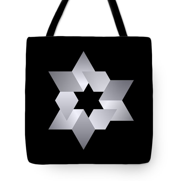 Star From Cubes Tote Bag