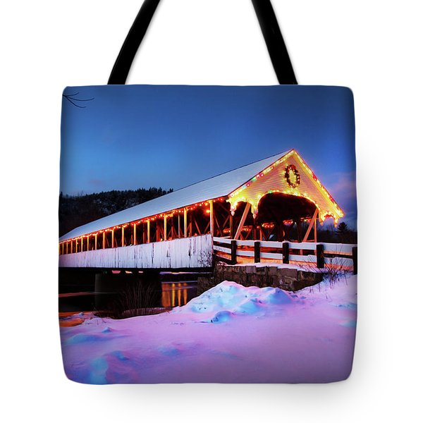 Tote Bag featuring the photograph Stark New Hampshire by Robert Clifford