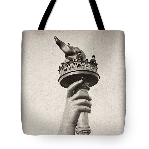 Statue Of Liberty, 1876 Tote Bag by Granger