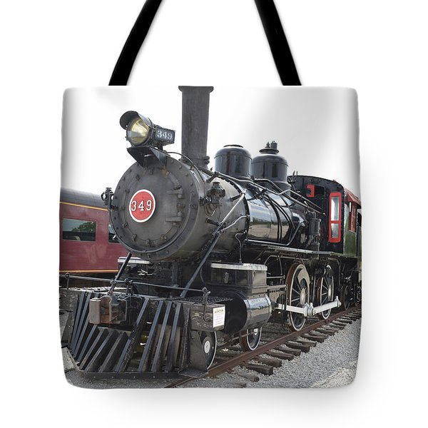 Steam Engline Number 349 Tote Bag