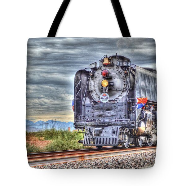 Steam Train No 844 Tote Bag