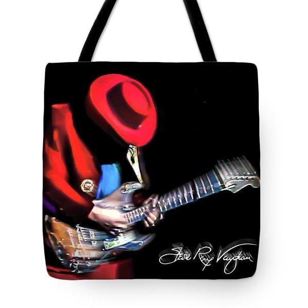 Stevie Ray Vaughan - Texas Flood Tote Bag