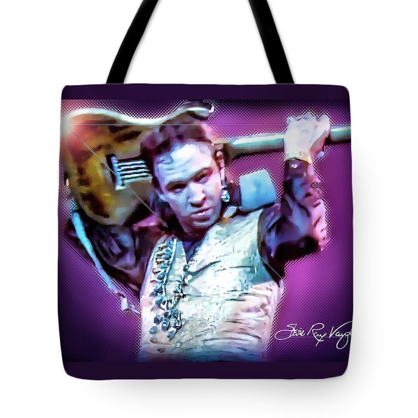 Stevie Ray Vaughan - Love Struck Baby Tote Bag