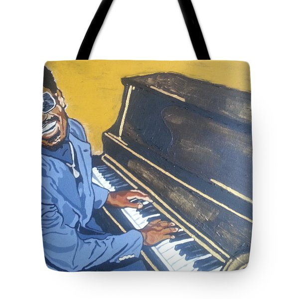 Stevie Wonder Tote Bag