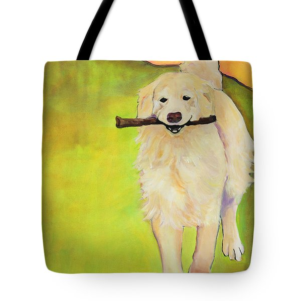 Stick Together Tote Bag by Pat Saunders-White
