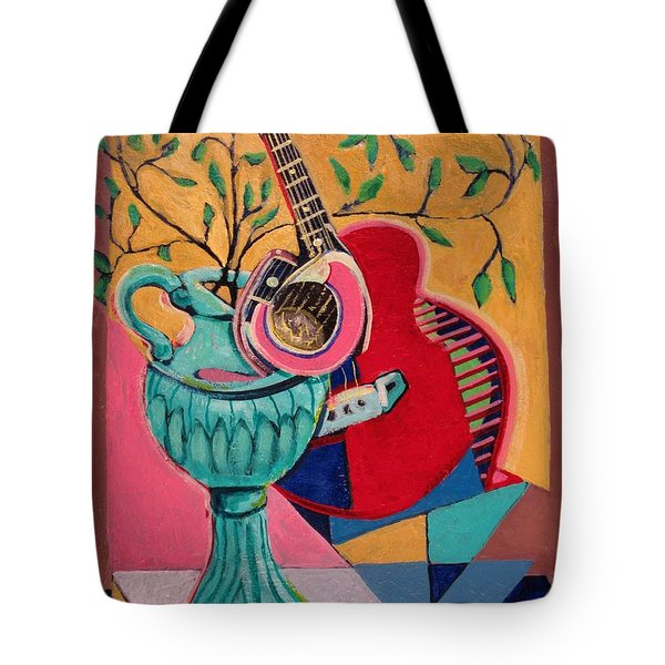 Still Life With Sound Tote Bag by Dennis Tawes