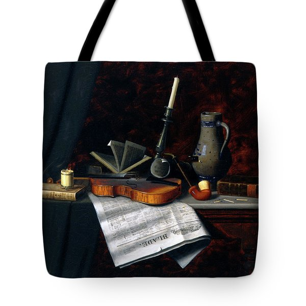 Still Life With The Toledo Blade Tote Bag