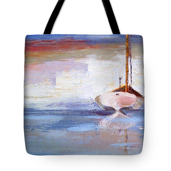 Stillness Tote Bag by Trina Teele