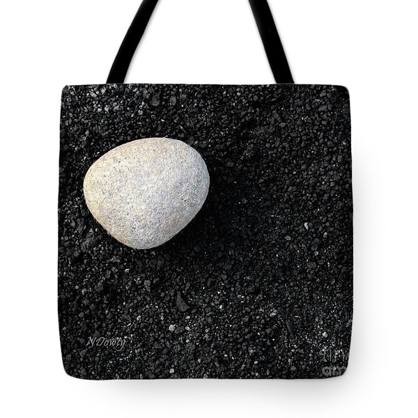 Stone In Soot Tote Bag