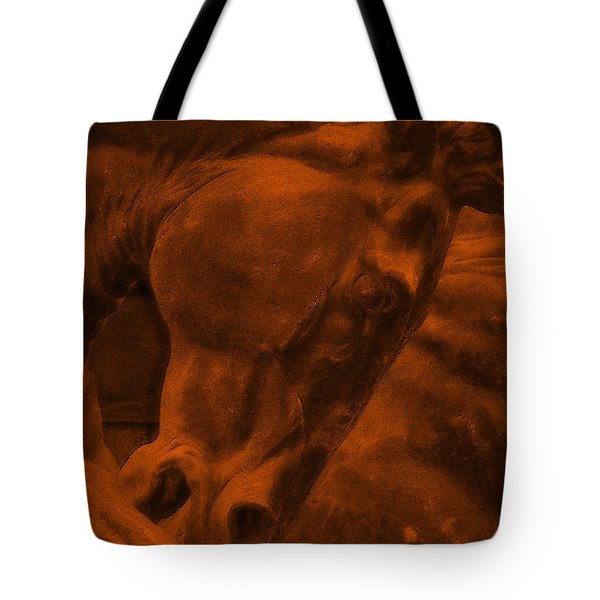 Stone Steed Reds Tote Bag