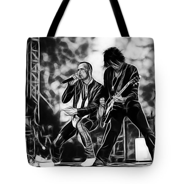 Stone Temple Pilots Collection Tote Bag by Marvin Blaine