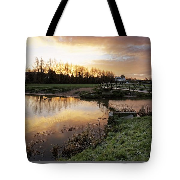 Stour Sunrise Tote Bag