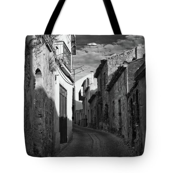 Street Little Town Tote Bag