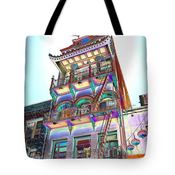 Streets Of Color Tote Bag
