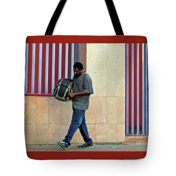 Tote Bag featuring the photograph Stripes by Joe Jake Pratt