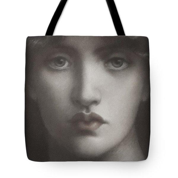 Study Of Jane Morris Tote Bag