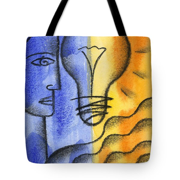 Tote Bag featuring the painting Success by Leon Zernitsky