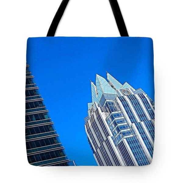 Such A Perfect #bluesky Day In Tote Bag