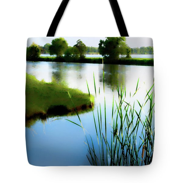 Tote Bag featuring the mixed media Summer Dreams by Betty LaRue