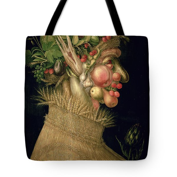 Summer Tote Bag by Giuseppe Arcimboldo