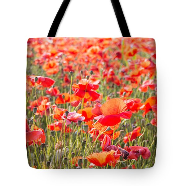 Summer Poetry Tote Bag