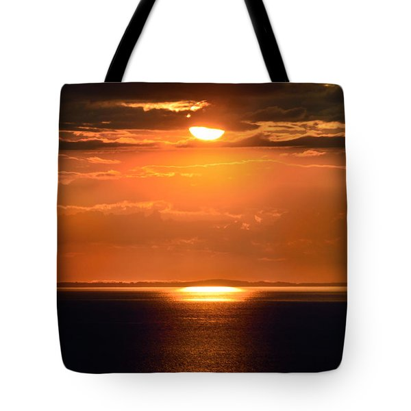 Sun Down Tote Bag by Terence Davis
