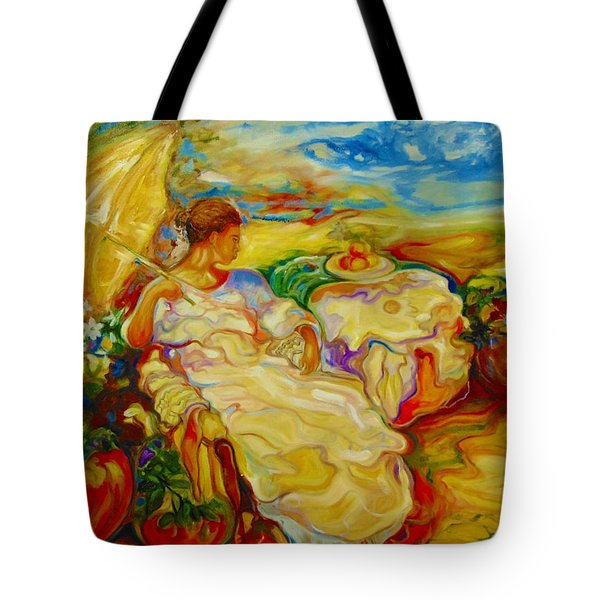 Sun Set Tote Bag